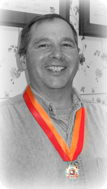 Don Moll with medal