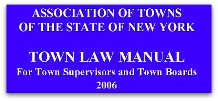 Town Law Manual cover