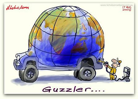 Guzzler cartoon