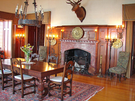 Drawing Room, Dark Island, Chippewa Bay NY